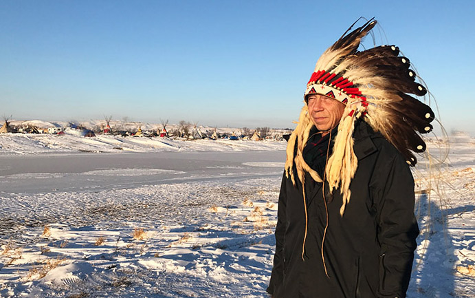 Chief Steve McCullough Sundance